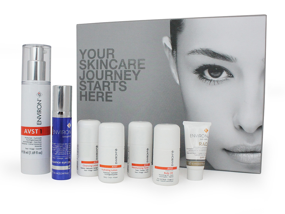 "Environ skin care named the ""top medical skincare brand"" Oct 2018"