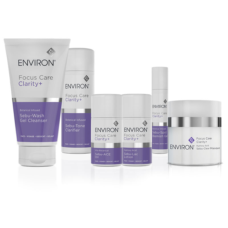 Environ focus care clarity+ range